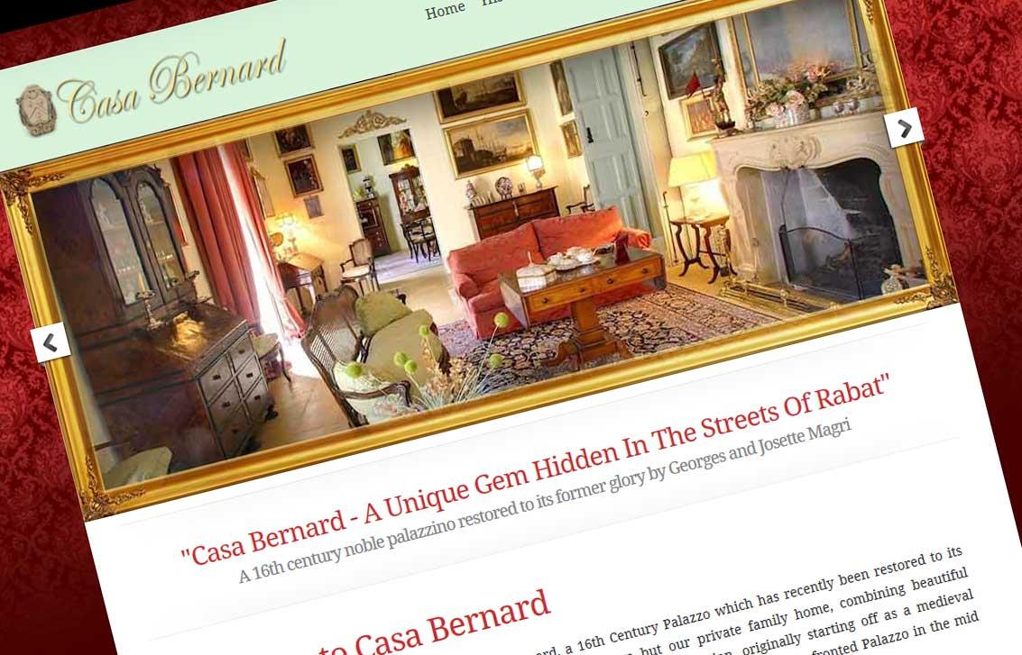 Casa Bernard Website